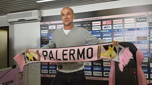 Presentato Balardini nuovo tecnico rosanero$