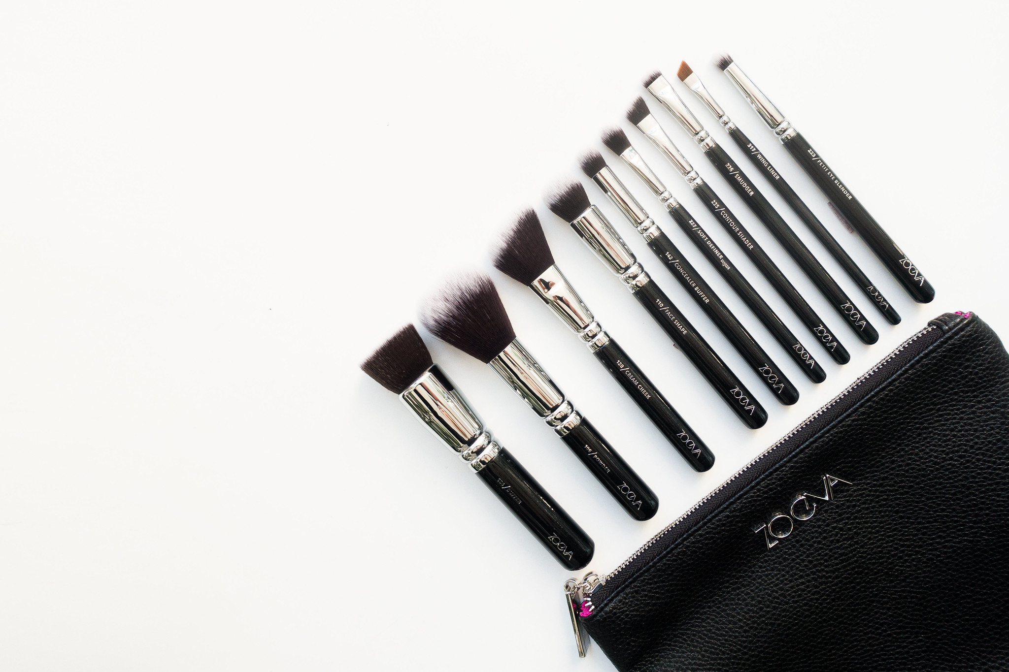 Cruelty-Free Brushes With Zoeva