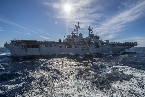 PACIFIC OCEAN (NNS) -- The Boxer Amphibious Ready Group (ARG) successfully completed a two-week Certification Exercise (CERTEX) off the coast of southern California.