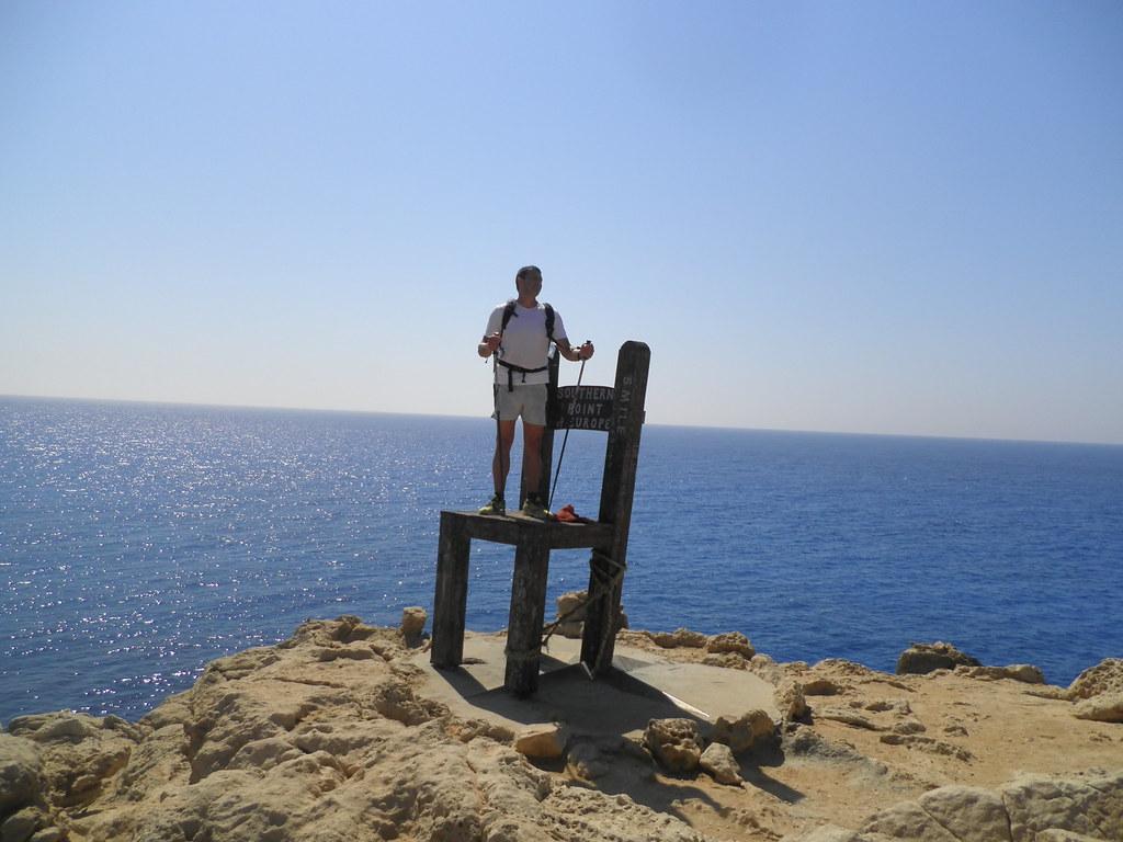 Η καρέκλα στην ΤΡΥΠΗΤΗ, το νοτιότερο άκρο της Ευρώπης