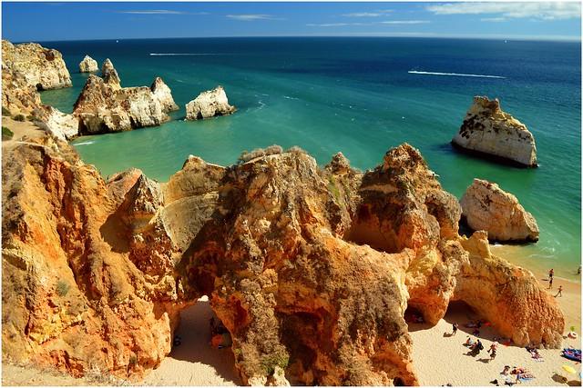 Algarve, Portugal 2015 - Praia dos Tres Irmaos