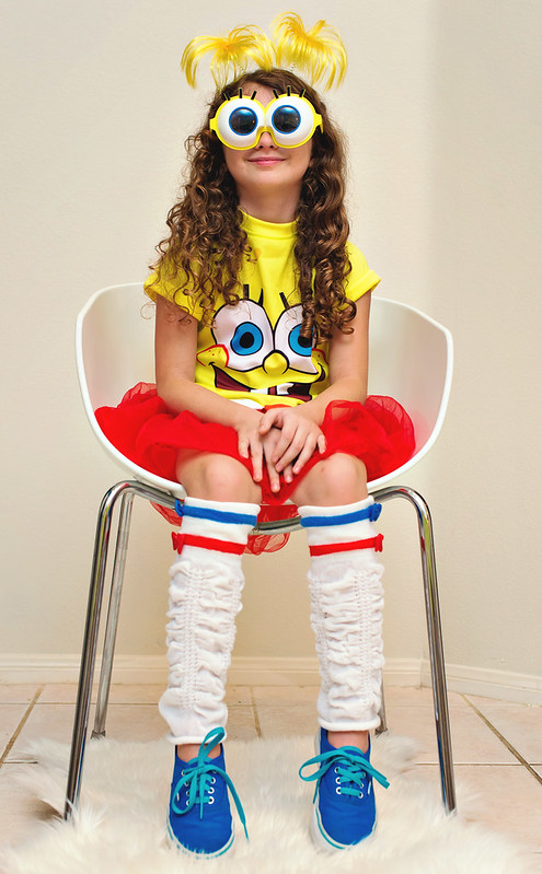 diy spongebob costume girls kids