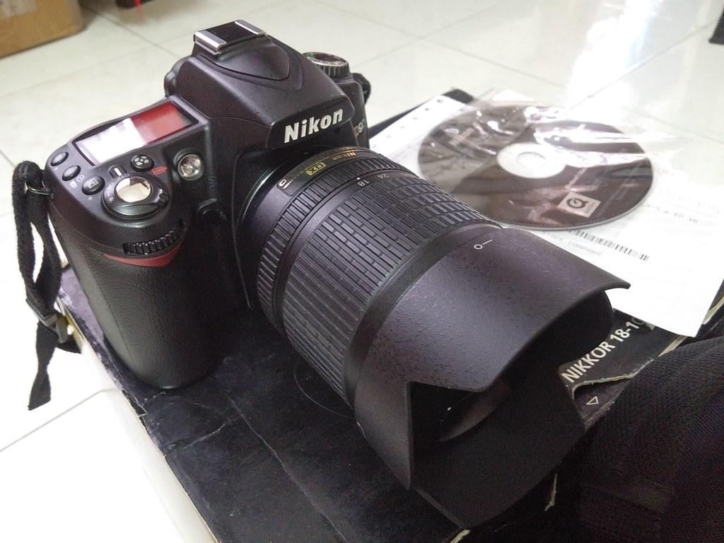 Nikon D90 + lens kit 18-105 mói 95% giá thanh lý 6tr5.. - 1