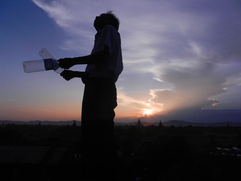 Закат на Швесандо (Shwesandaw Paya)