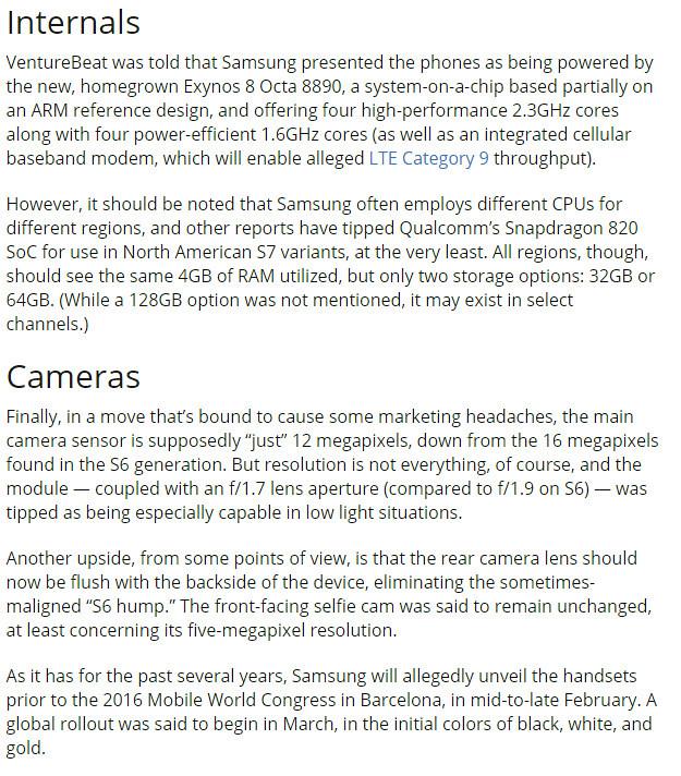 Samsung Galaxy S7 exposure waterproof and dustproof + battery