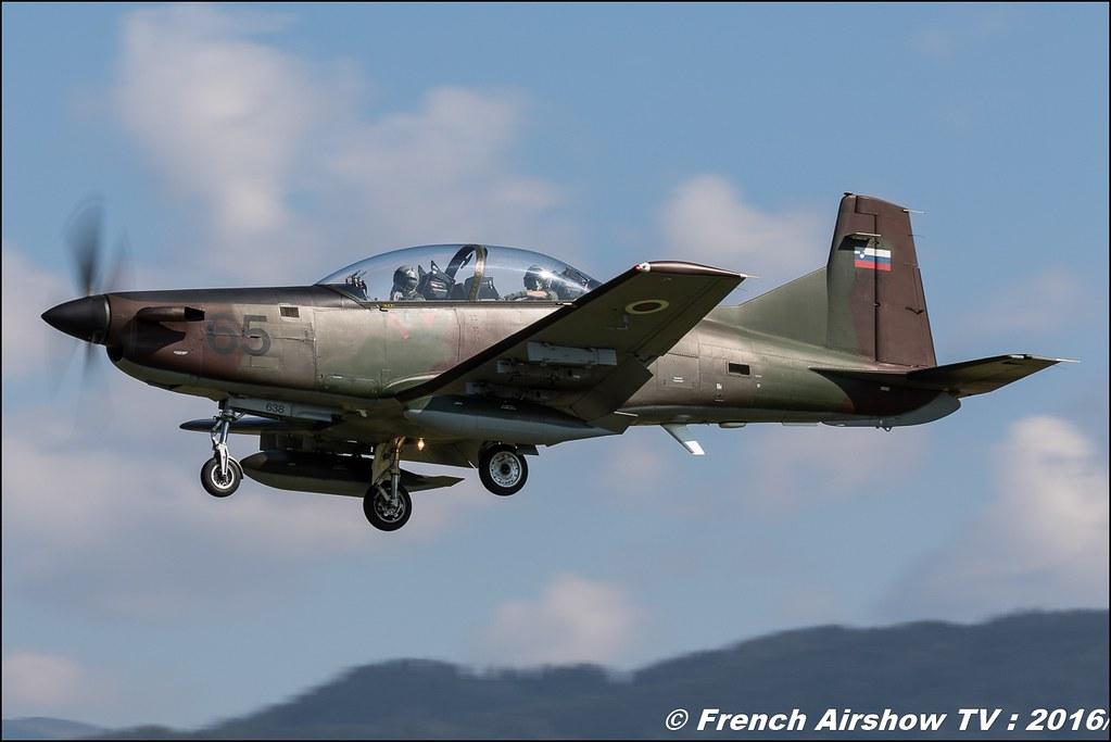 pilatus pc-9 ,airpower zeltweg 2016 , AIRPOWER16 - Österreichs Airshow , Steiermark , Austria, Canon Reflex , EOS System
