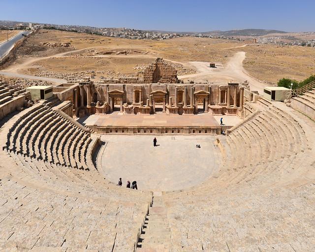 Teatro de Jerash en Jordania