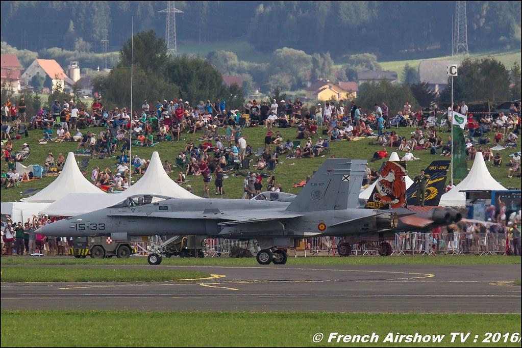 EF-18 Hornet , Spain , Ejercito del Aire , airpower zeltweg 2016 , AIRPOWER16 - Österreichs Airshow , Steiermark , Austria, Canon Reflex , EOS System