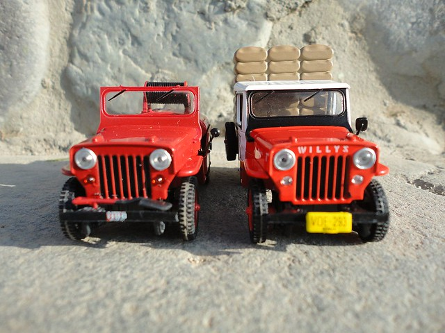 "Jeep Willys CJ-3B ""Cafetero de Colombia"" (1953 - 1964) 1/43 (PCT - IXO)"
