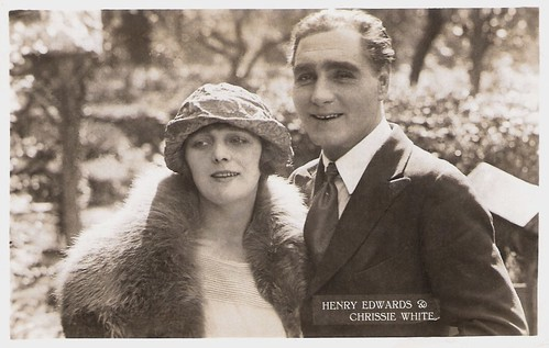 Chrissie White and Henry Edwards