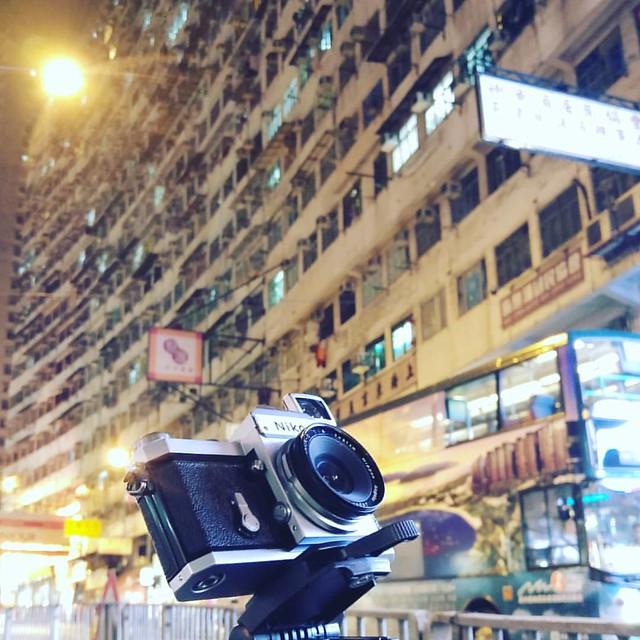 Nikon 2.1cm 日系Biogon長曝TEST