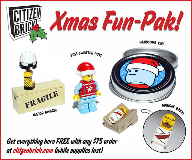 Citizen Brick Xmas Fun-Pak