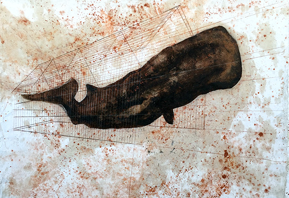 Moby Dick, SPERM WHALE LEAVING HIS CAGE, Esteban Ruiz