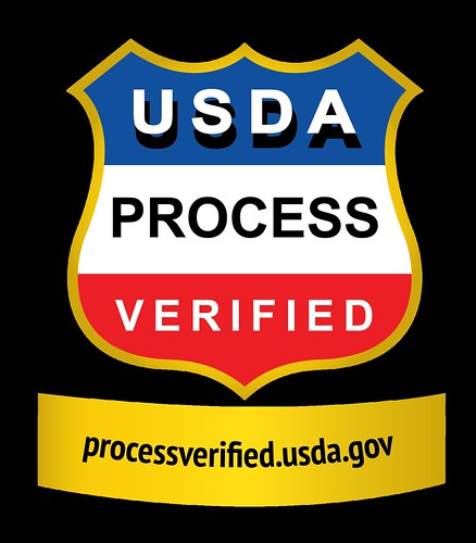 The new USDA Process Verified shield