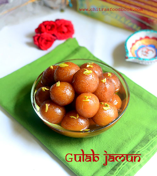 Gulab jamun with readymade mtr mix