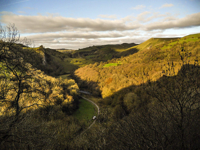 View of Manifold Valley from Thor's Cave