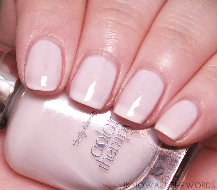 sally hansen colour therapy sheer nirvana