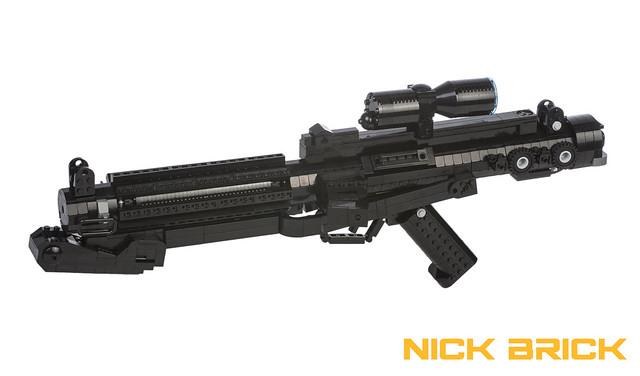 Star Wars E-11 Blaster Rifle, by Nick Brick, on Eurobricks