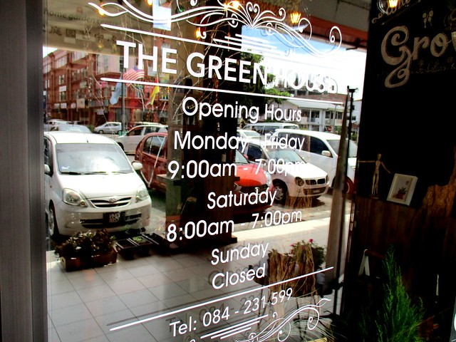 Opening days & hours and telephone