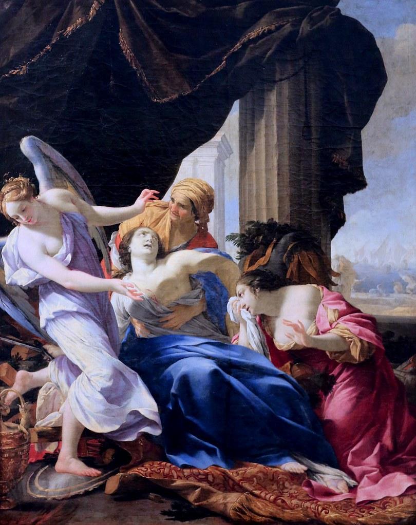 Img 0268 simon vouet 1590 1649 paris la mort de didon - Cuisiner trompette de la mort ...