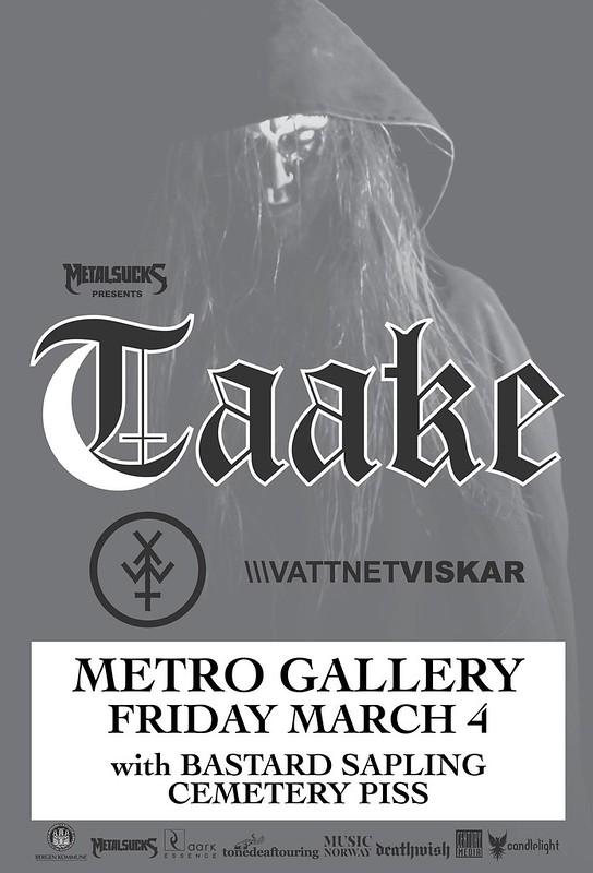 Taake at Metro Gallery