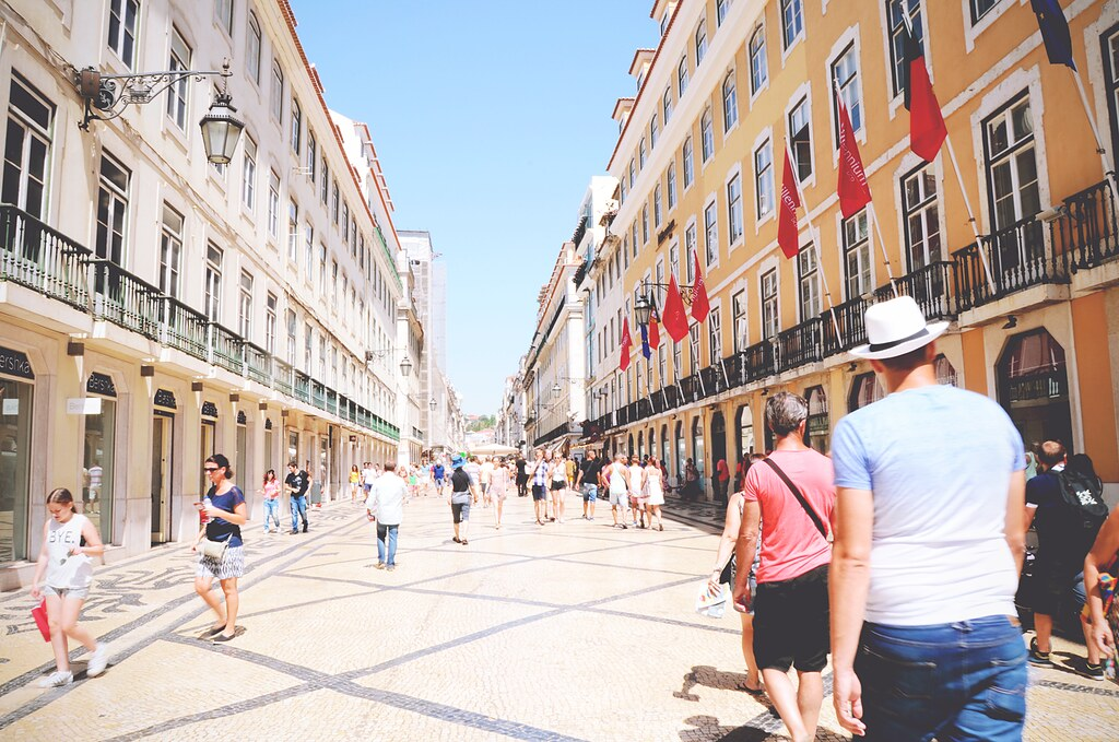 Rua Augusta, Lisbon - Portugal | via It's Travel O'Clock