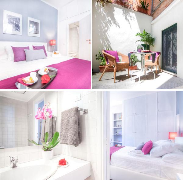 Precioso apartamento donde dormir en Roma con terracita y muy bien ubicado