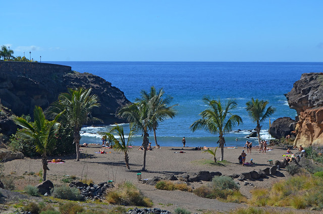 The Beach, Playa Paraiso, Tenerife