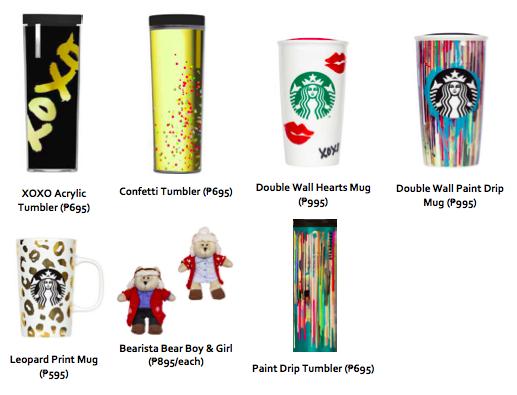 Starbucks Philippines featured holiday merchandise