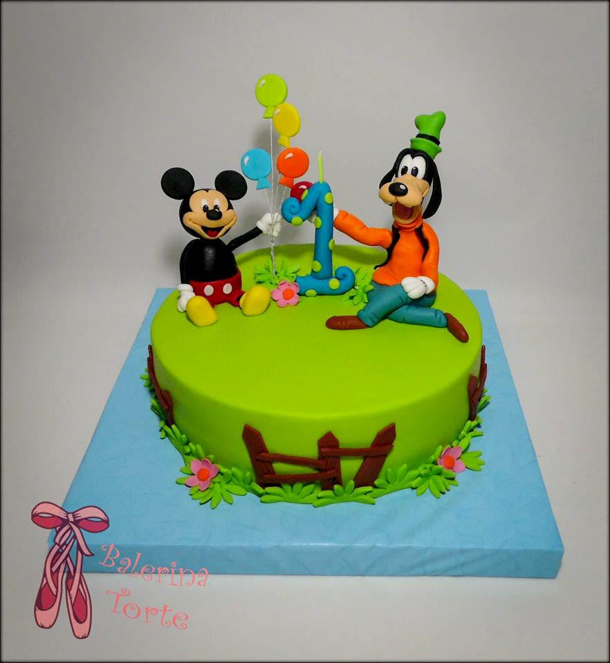 Disney Cake Dizni Junaci Torta Miki Maus Torta By Bale