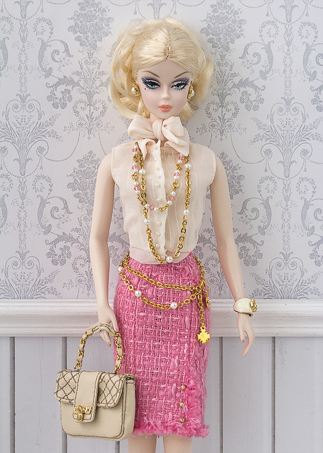 Chanel couture Barbie