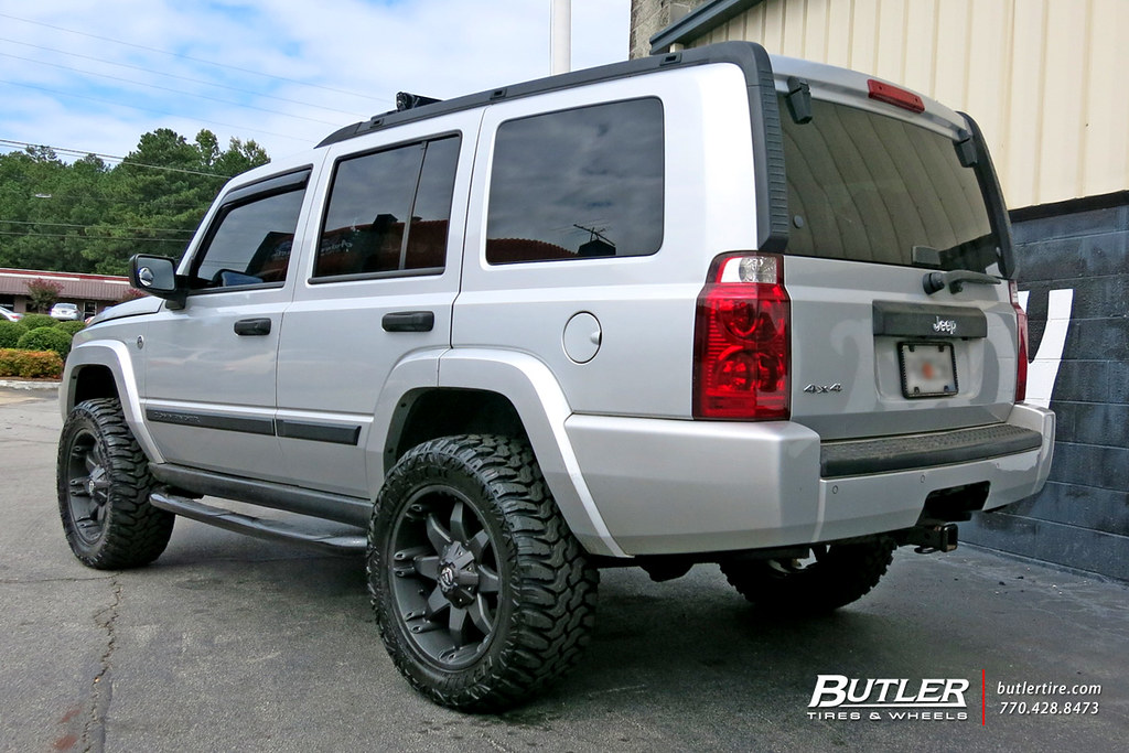 Jeep Commander with 20in Fuel Octane Wheels and 32in Lexan ...