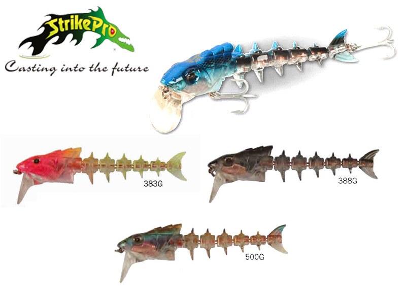 bonehead 383G pesce artificiale pesca spinning traina minnow pesce serra siluro