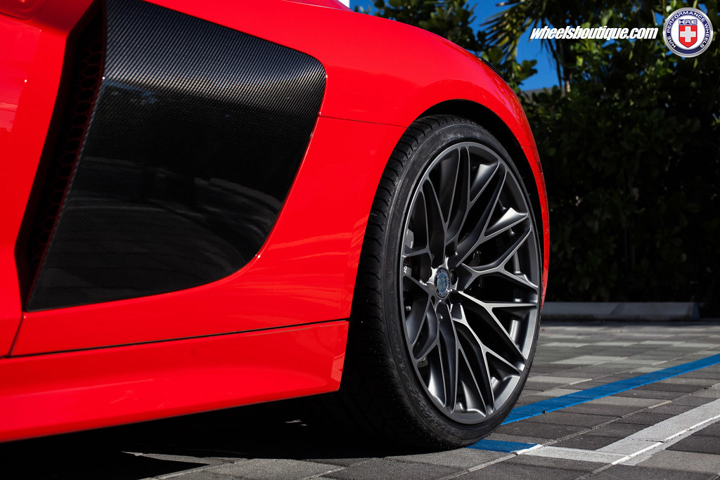 HRE Wheels | Audi R8 with HRE P200 Wheels installed ...