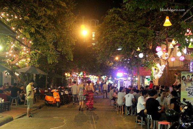 Rambuttri Road Bangkok Thailand