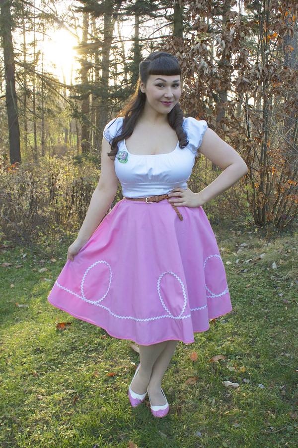 ric rac skirt