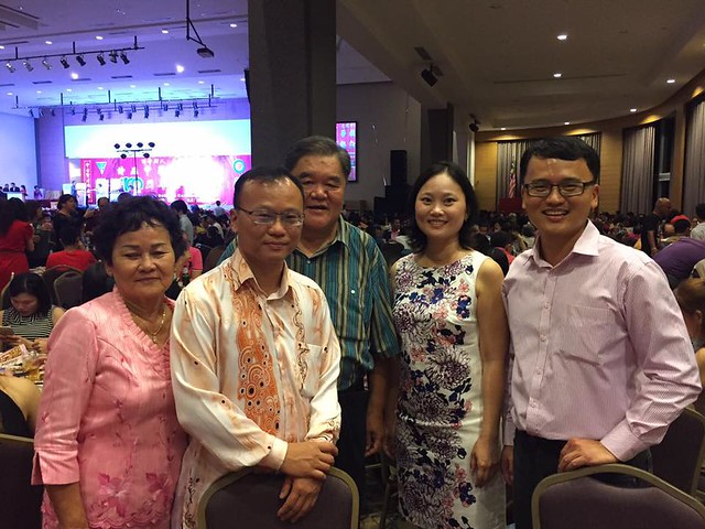 Chung Hua Centenary celebration, with the Toh's.