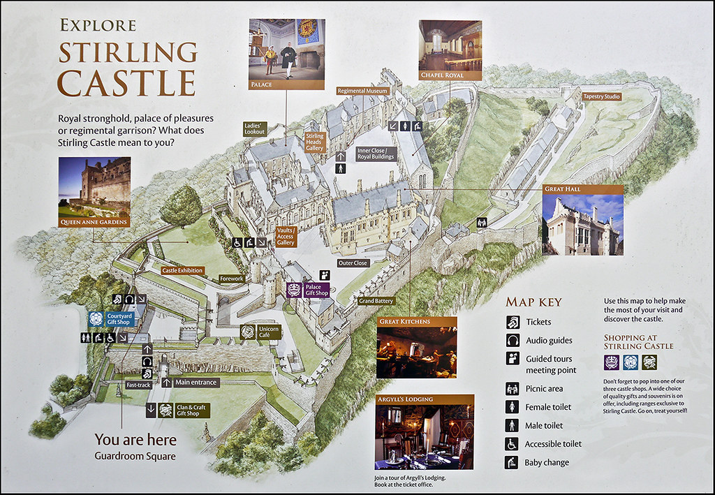 Photo Stirling Castle Map Jassy 50 Flickr