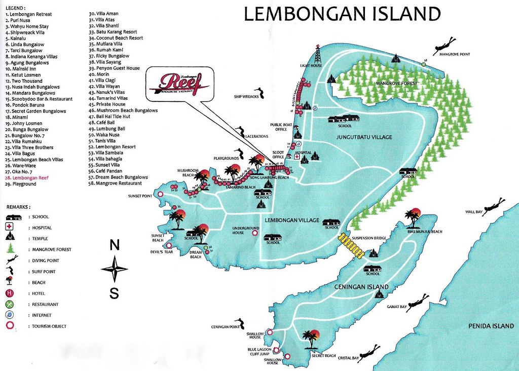 Panduan Wisata Liburan Ke Nusa Lembongan Nusa Ceningan Dan Nusa Penida