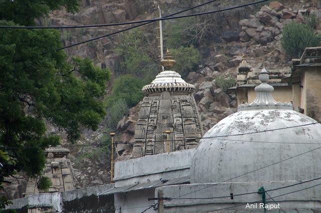 The main Shikhar Ekling Ji Temple , Nagda, Udaipur, Rajasthan