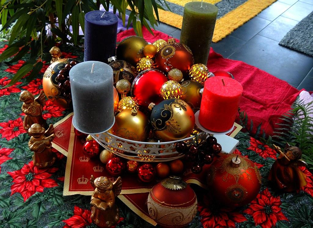 kugeliger adventskranz spherical advent wreath mein aus a flickr. Black Bedroom Furniture Sets. Home Design Ideas