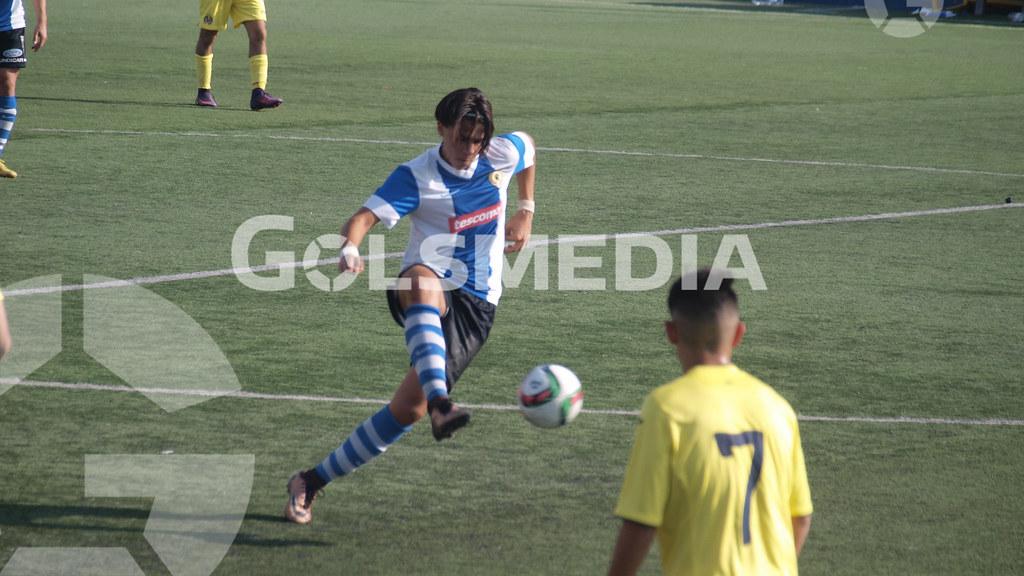 Cadetes. Villarreal CF - Hércules CF (19/11/2016), Jorge Sastriques