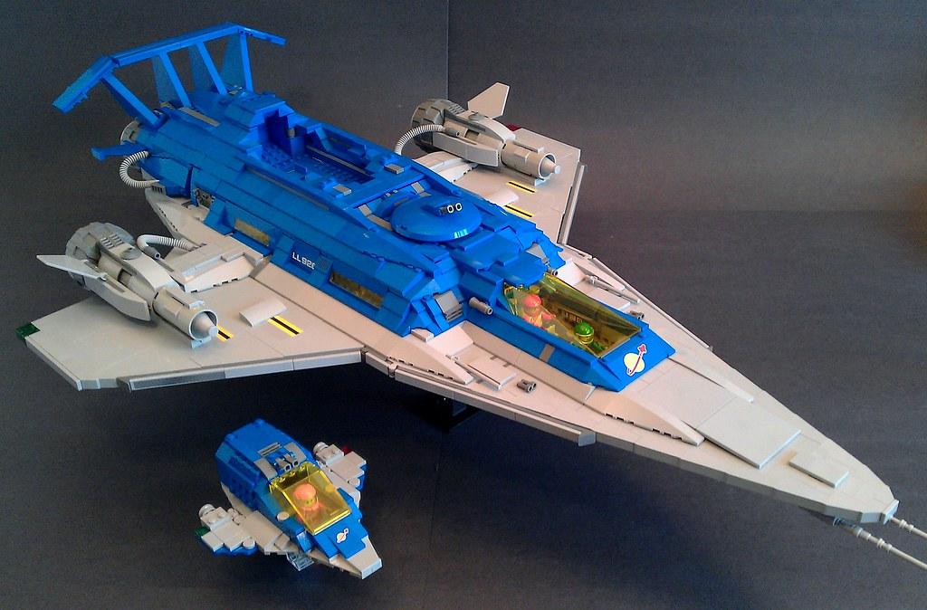 Galaxy Explorer 2.0 Shuttle C   LegoSpaceGuy   Flickr