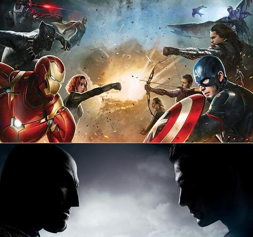 151203(2) - 2016超級英雄大亂鬥、電影《美國隊長3:英雄內戰》《蝙蝠俠對超人:正義曙光》新預告片公開!