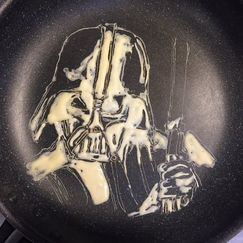 Star Wars Darth Vader Pancake