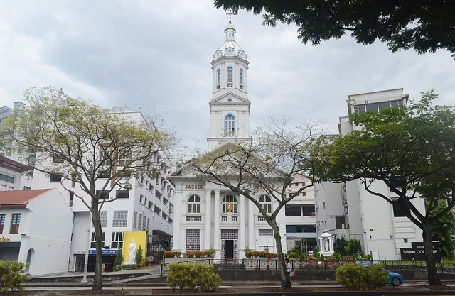singapore's museum district church of sacred heart