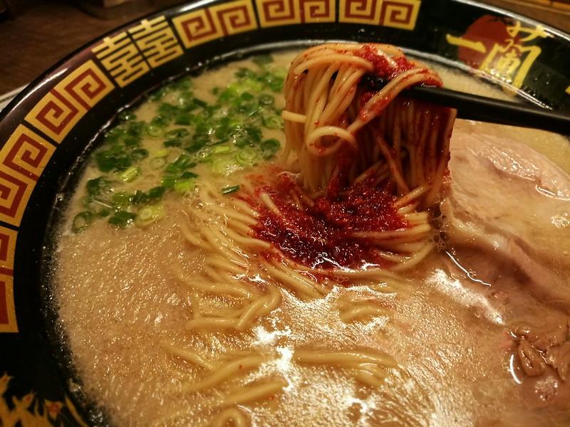 Contender for best Tonkotsu Ramen - Ichiran