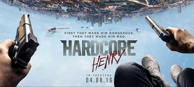 Hardcore Henry Film Poster