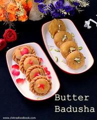 Butter badusha/Balushahi