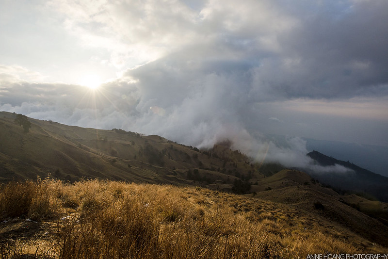 Sunset at Mount Rinjani